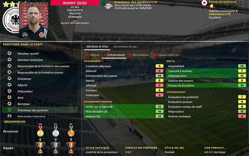 Entraineur gardien U19 3-3