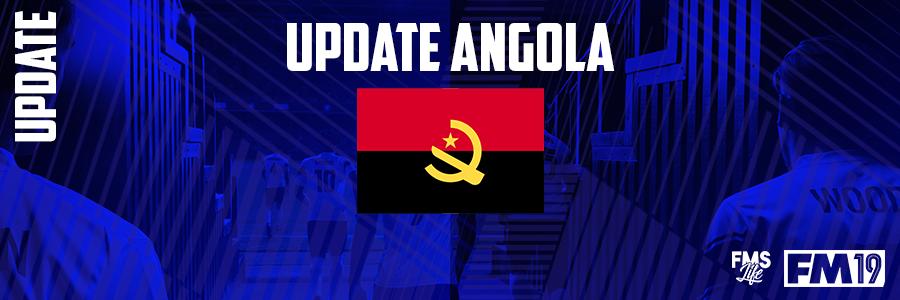 Football Manager 2019 League Updates - [FM19] Angola (D1)