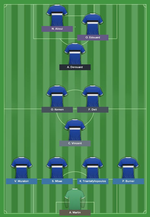 équipe de l'année