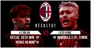 Lzio VS MILAN