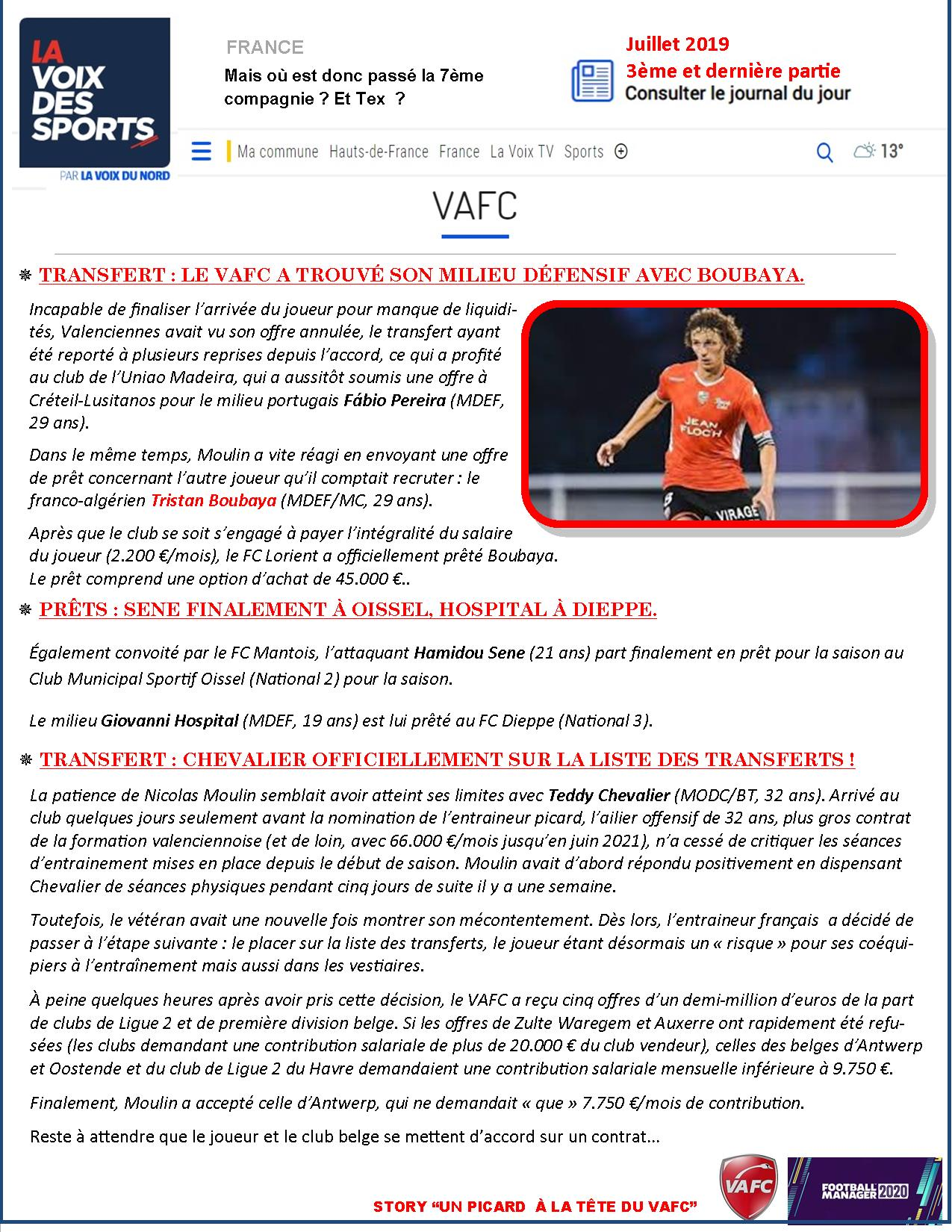 VAFC - 02 - Juillet 2019 - 3eme partie