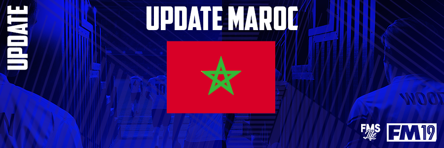Football Manager 2019 League Updates - [FM19] Morocco (Division 4)