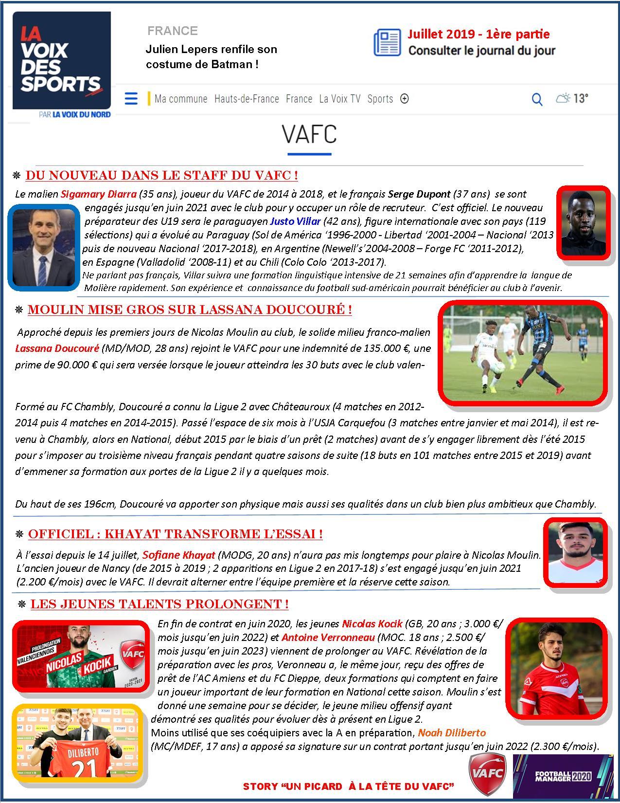 VAFC - 02 - Juillet 2019 - 1ere partie