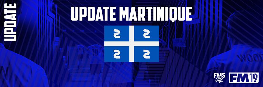 Football Manager 2019 League Updates - [FM19] Martinique (D1)