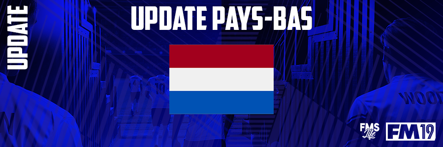 Football Manager 2019 League Updates - [FM19] Netherlands (Division 7)
