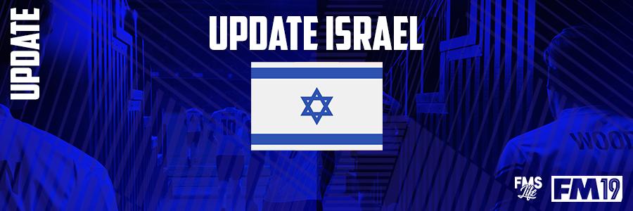 Football Manager 2019 League Updates - [FM19] Israel (D5)