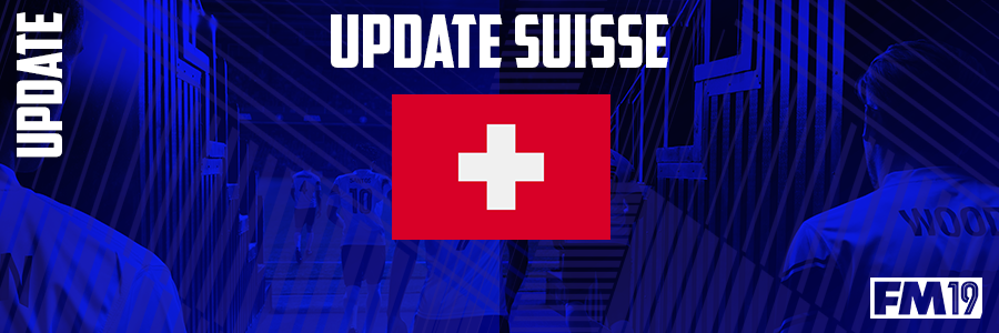 Football Manager 2019 League Updates - [FM19] Switzerland (Division 5)