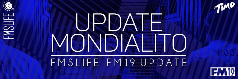 FM 2019 Fantasy Scenarios - [FM19] Mondialito (10 Levels / 1,240 Teams) - By @Timo@