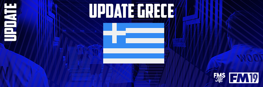 Football Manager 2019 League Updates - [FM19] Greece (Division 3)