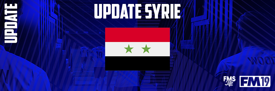 Football Manager 2019 League Updates - [FM19] Syria (Division 3)