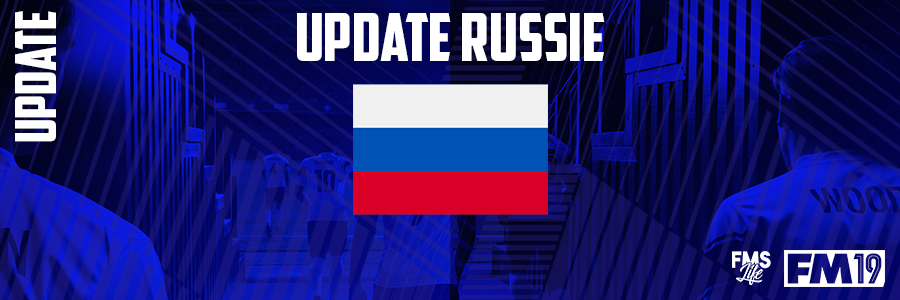 Football Manager 2019 League Updates - [FM19] Russia (Division 3)